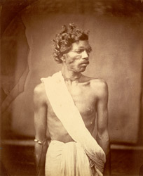 Portrait of a man, Eastern Bengal. 21
